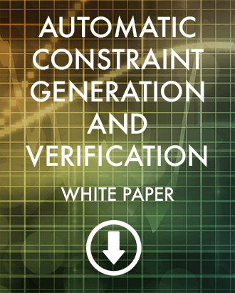 Automatic Constraints Discovery and Verification: Download White Paper (PDF)