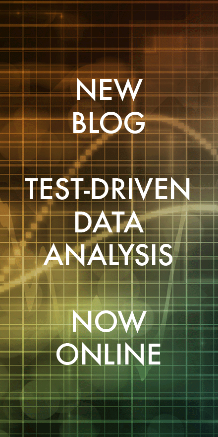 New Blog: Test-Driven Data Analysis